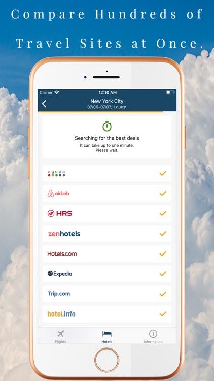 FindAirlines Flight,Hotels,Car screenshot-3