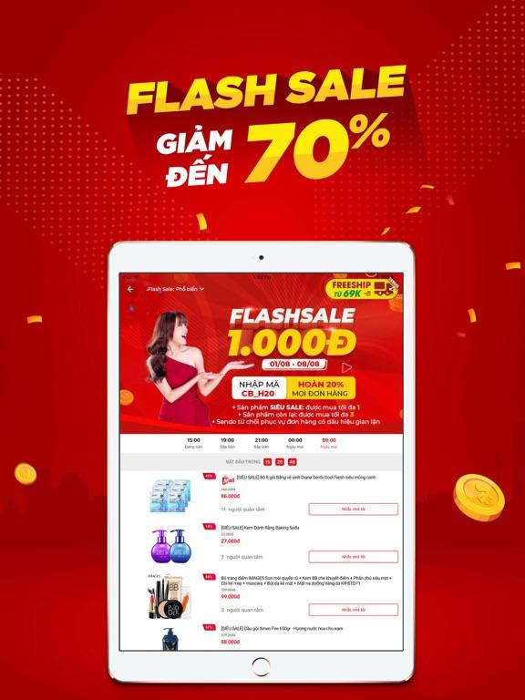 Screenshot #5 pour Sendo: Online Shopping App #1