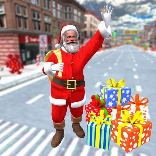 Christmas Santa City Driving