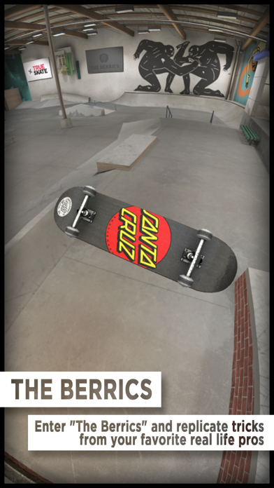 Screenshot for True Skate in Belgium App Store