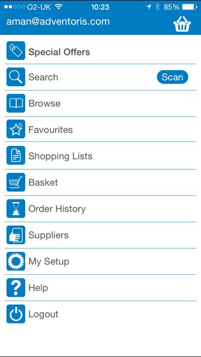 Hagen Order App screenshot three