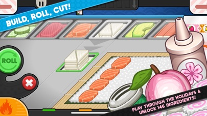 Papa's Sushiria To Go! screenshot 4