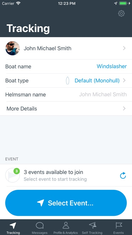 KWINDOO Tracking for sailing
