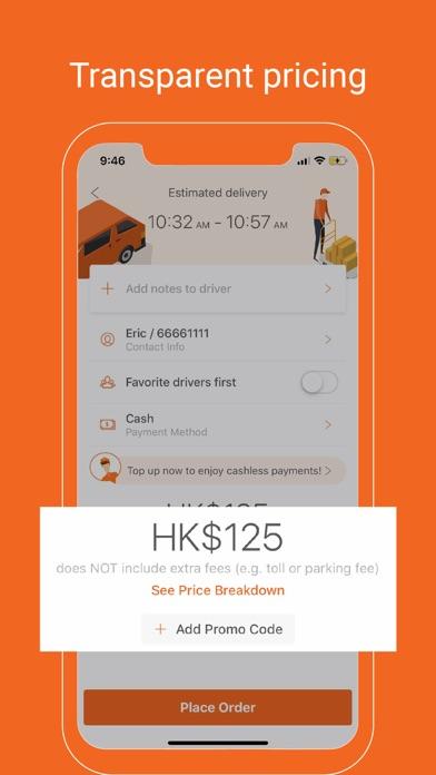 Lalamove - Fast Delivery App screenshot three
