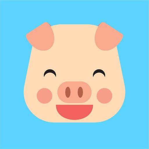 pig cute emoji face