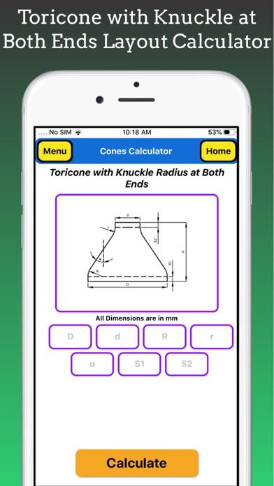 Cones Calculator screenshot 10