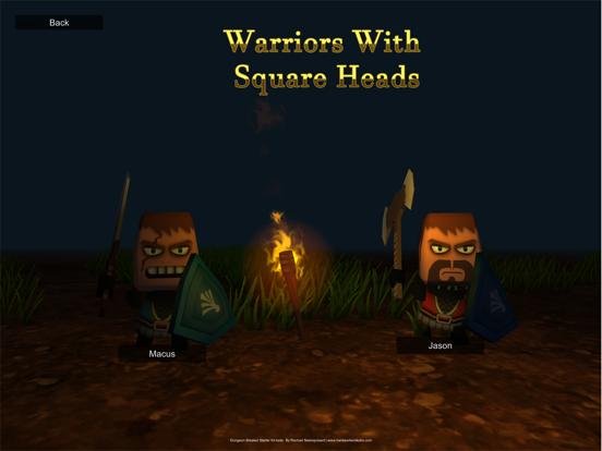 Warriors With Square Heads screenshot 4