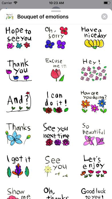Bouquet of emotions screenshot 2