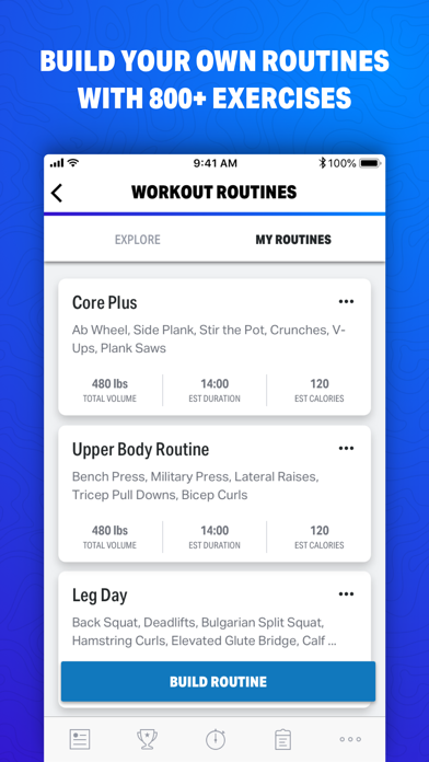 Map My Fitness by Under Armour screenshot two