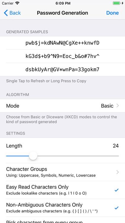 Strongbox Password Safe screenshot-3