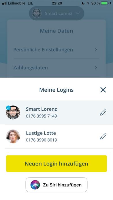 FONIC mobileScreenshot von 2