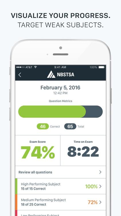 Official NBSTSA CSFA Exam Prep screenshot-3