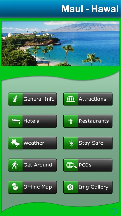 Maui - Hawaii Offline Travel