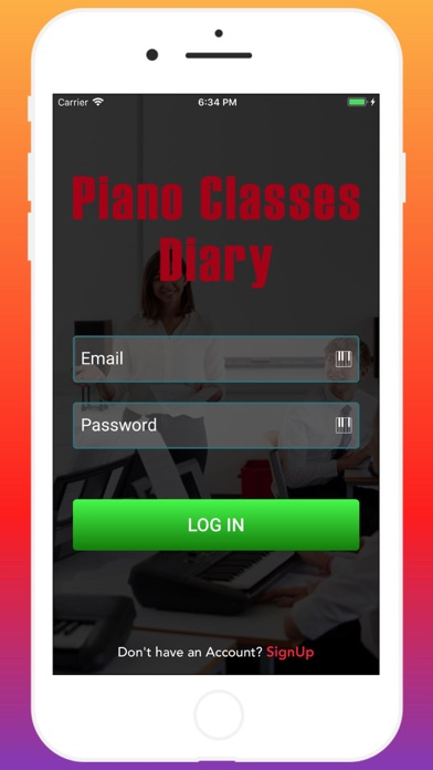 Piano Classes Diary