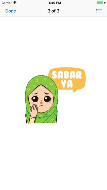 Muslim Hijab Girl Greetings screenshot-4