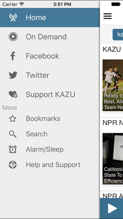 KAZU Public Radio App screenshot-2