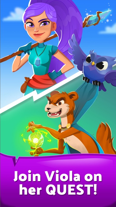 Viola's Quest - Marble Blast by Two Desperados (iOS, United