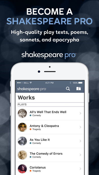 Shakespeare Pro review screenshots