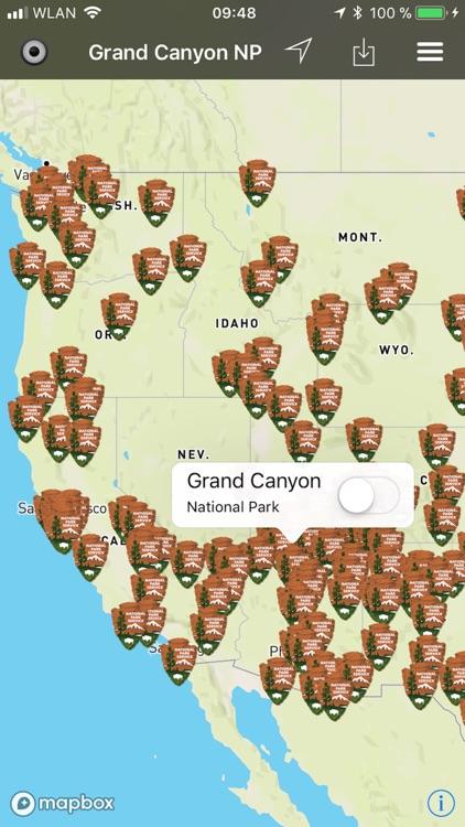 National Parks Pocket Maps