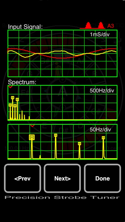 Precision Strobe Tuner screenshot-3