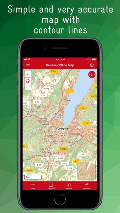 Geneva Offline Map