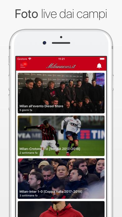 Screenshot #2 pour MilanNews.it