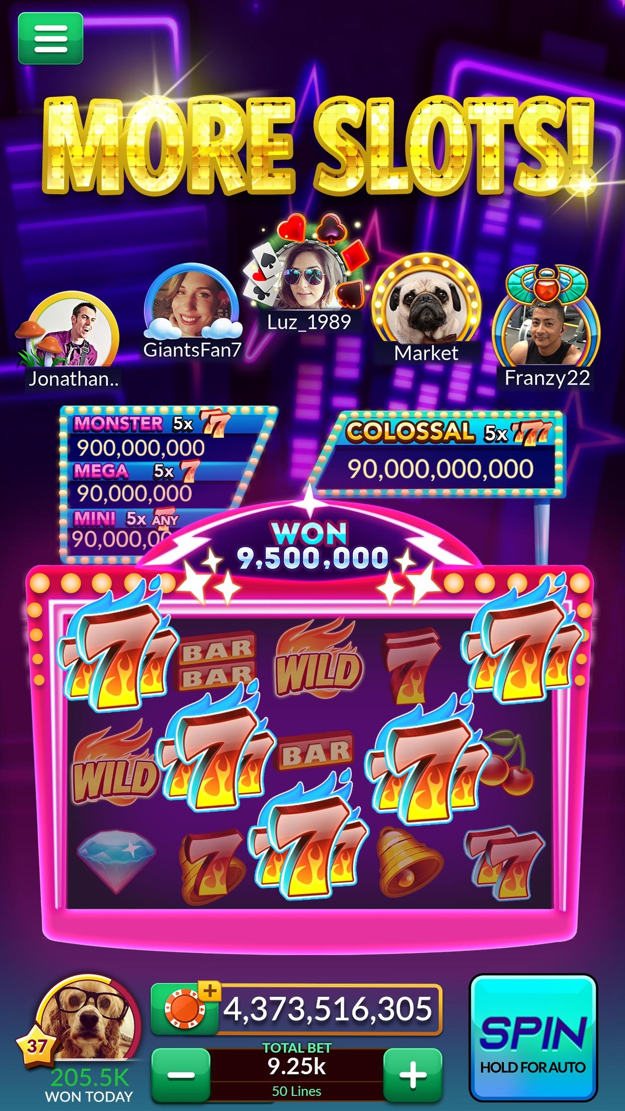 Big Fish Casino: Slots & Games Screenshot