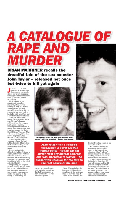Murder Most Foul Magazine screenshot 5