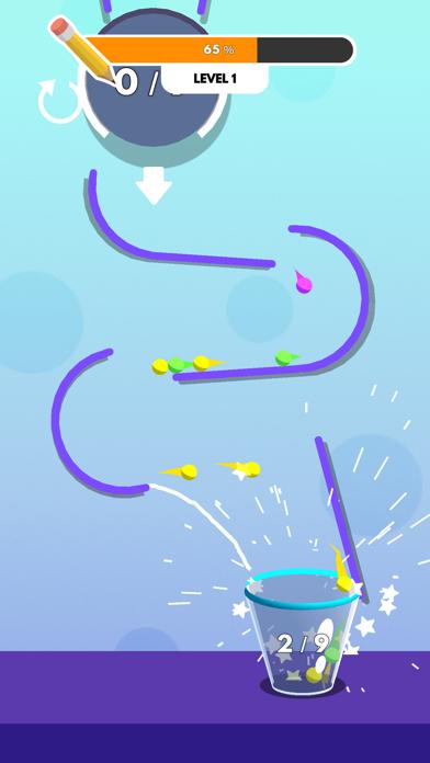 Drawing Ball Race screenshot 3
