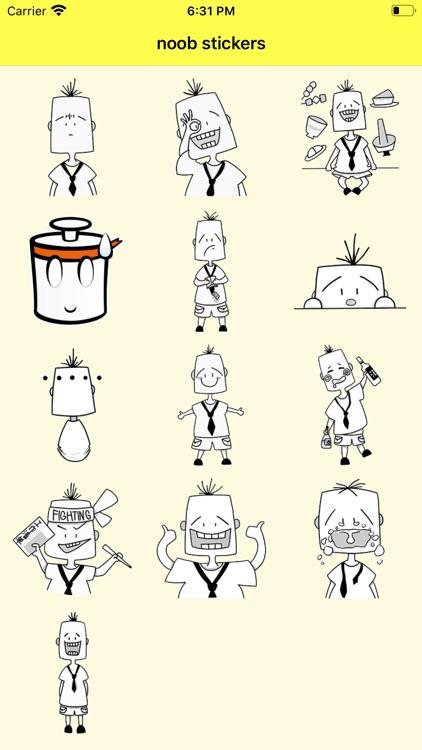 noob stickers