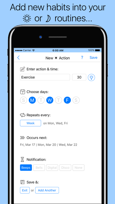 Routinist - Schedule Planner screenshot