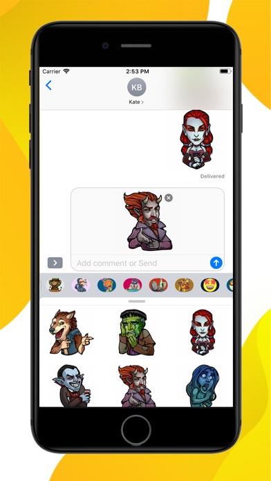 Myths and Legends Stickers screenshot 3