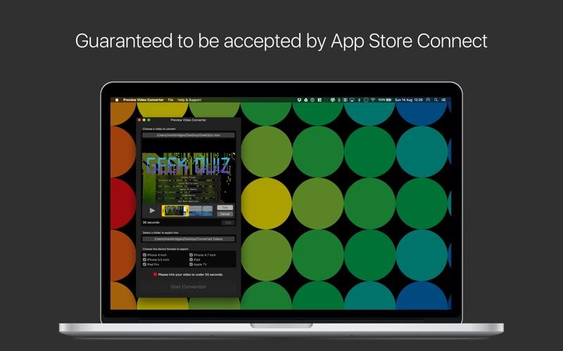 App Preview Video Converter review screenshots