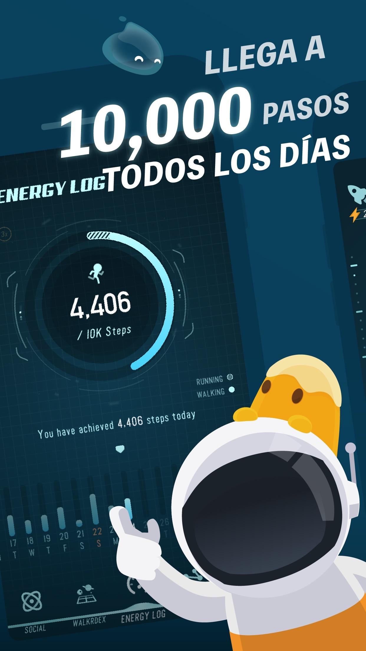 Walkr Screenshot