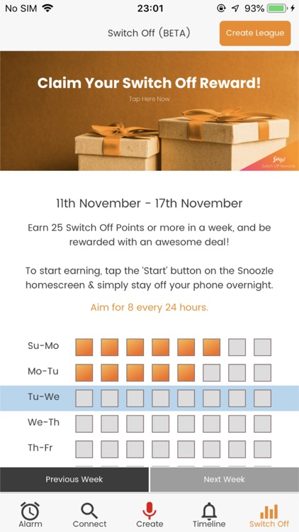 Snoozle - Alarm & Rewards!
