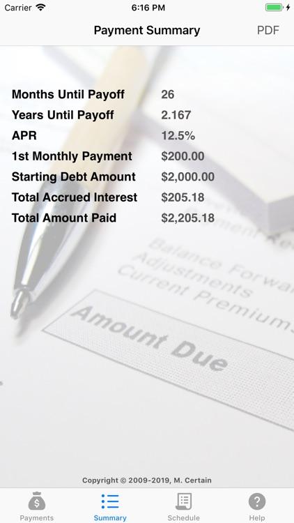 iCredit Calculator screenshot-5