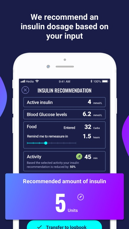 Hedia - personal diabetes app screenshot-4