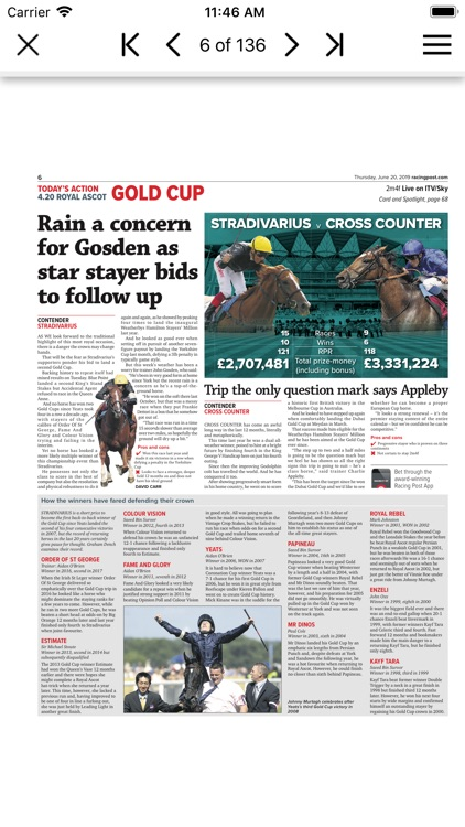 Racing Post Newspaper screenshot-5