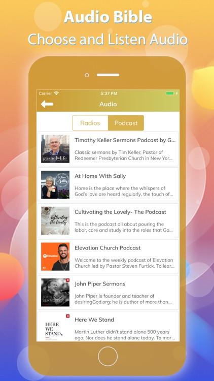 Holy Bible - Audio Bible screenshot-4