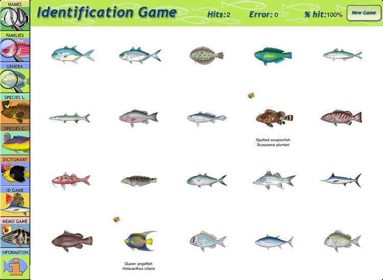 Marine Fishes Id Guide screenshot-4