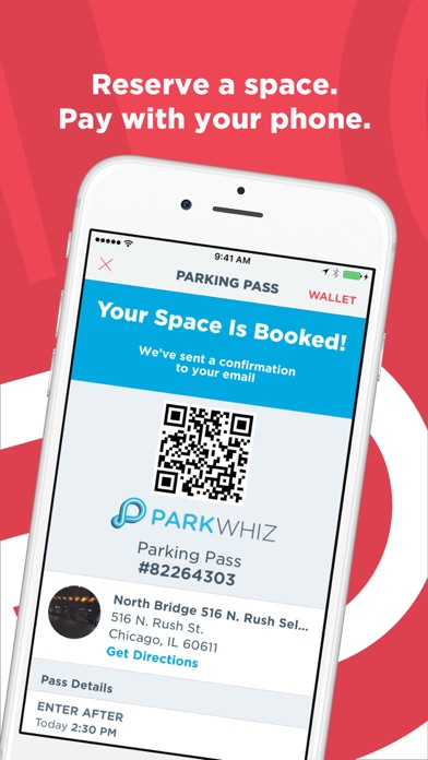 messages.download ParkWhiz - #1 Parking App software