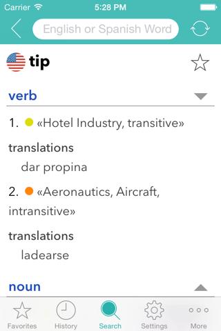 English Spanish Dictionary L. - náhled