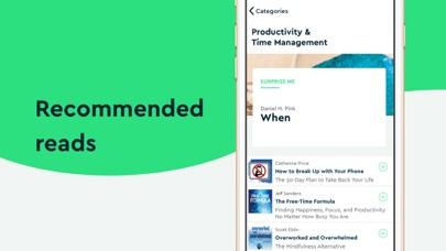 Blinkist: Read in 15 minutes app image