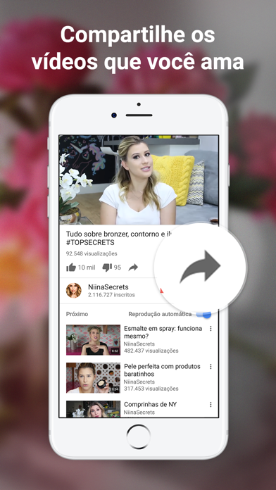 Screenshot for YouTube in Portugal App Store