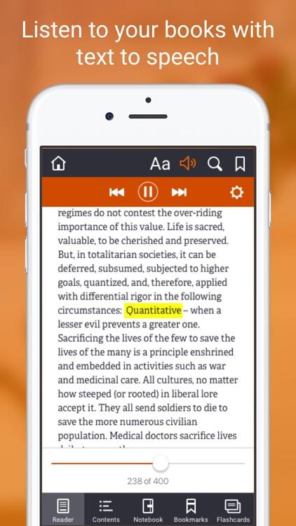 Elsevier eBooks on VitalSource screenshot-4