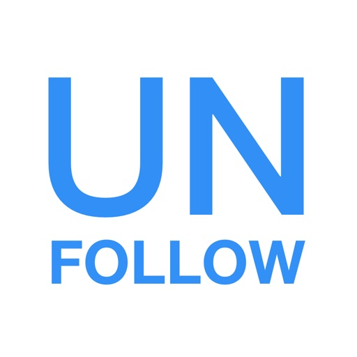 Unfollow Tweeps for Twitter app logo