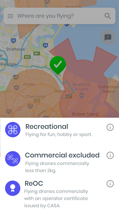 Screenshot for OpenSky - App for Drone Flyers in Australia App Store