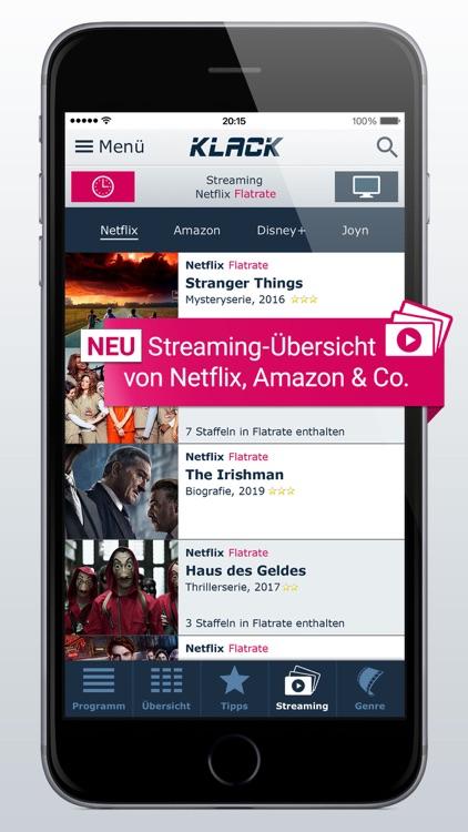TV-Programm KLACK: Ihre TV-App screenshot-5