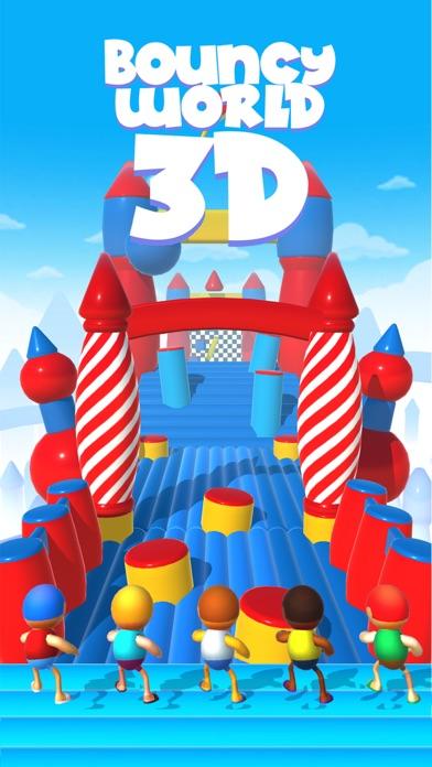 Bouncy World 3D screenshot 1