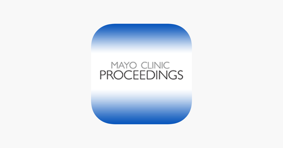 Mayo Clinic Proceedings on the App Store